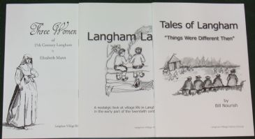 A Set of three short booklets on aspects of Langham Village History
